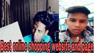 Best online shopping website and page ..
