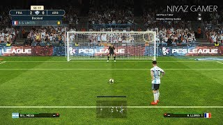 PES 2019 | FRANCE vs ARGENTINA | Messi vs Griezmann | Penalty Shootout | Gameplay PC