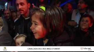 preview picture of video 'Els Reis d'Orient recorren Vila-real en una cavalcada d'il·lusió i solidaritat'