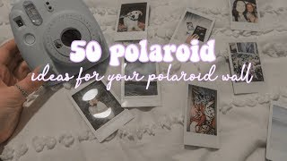 50 Polaroid Ideas!! || Ash Rose