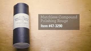 Matchless Polishing Rouge / Bobbing Compound