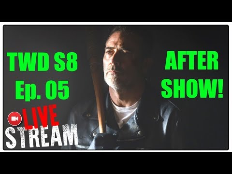 THE WALKING DEAD SEASON 8 EPISODE 5 AFTER SHOW