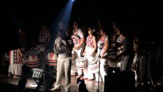 Batala Washington and Tonho Materia. Opening Song