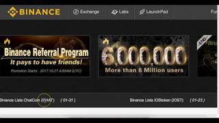 (How to Buy Altcoins on Binance)