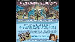 *(WARNING: NUDITY)*  The Mass Meditation Initiative 2018