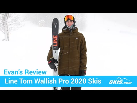 Video: Line Tom Wallisch Pro Skis 2020 6 50