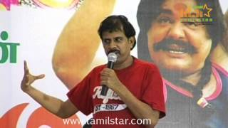 R  K  Selvamani and Vikraman at Athiradi Movie Audio Launch