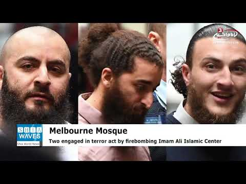 Three to be sentenced for firebombing Melbourne Mosque
