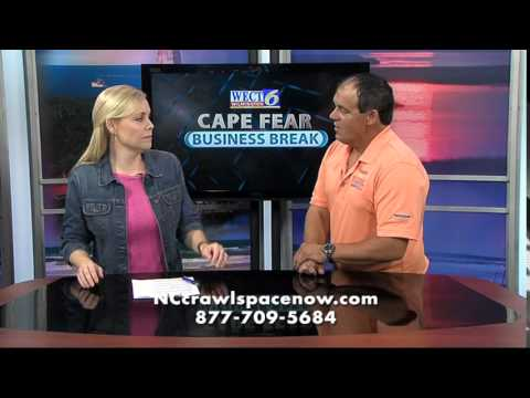 Southeast Foundation & Crawl Space Repair on Channel 6 - Part 3