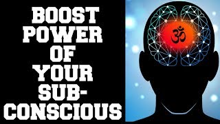 BOOST  EFFICIENCY &  PRODUCTIVITY : EMPOWER  SUBCONSCIOUS WITH AOM: 100% RESULTS