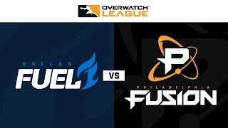 Dallas Fuel vs Philadelphia Fusion | Week 14 Day 2 | Part 2