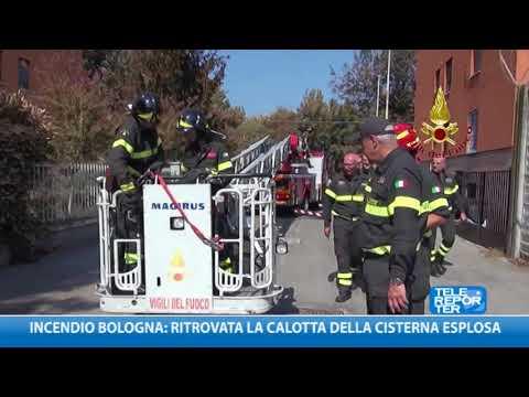 Incendio Bologna: ritrovata la calotta della cisterna esplosa