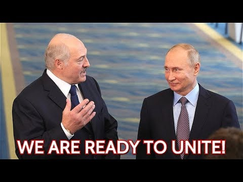 BREAKING! Lukashenko To Putin: Belarus Is Ready to Unite With Russia If Our People Are Ready For it!