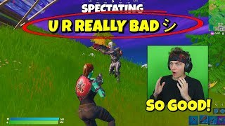 i spectated players who looked good and was SHOCKED... (experiment)