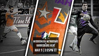 Mississauga MetroStars vs Harrisburg Heat