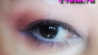 """Макияж глаз """"Лепесток сакуры"""", видео-инструкция"""