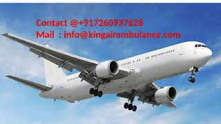 Hire King Air Ambulance Service in Bangalore and Bhopal at Low Cost