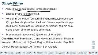 Eğitim Vadisi AYT Edebiyat 29.Föy Cumhuriyet Tiyatrosu Konu Anlatım Videoları