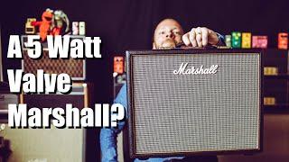 Marshall Origin 5C (Affordable Marshall Tones?)