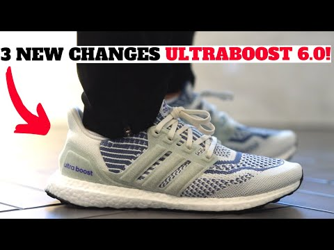 3 NEW CHANGES! adidas ULTRABOOST 6.0 DNA Review + On Feet