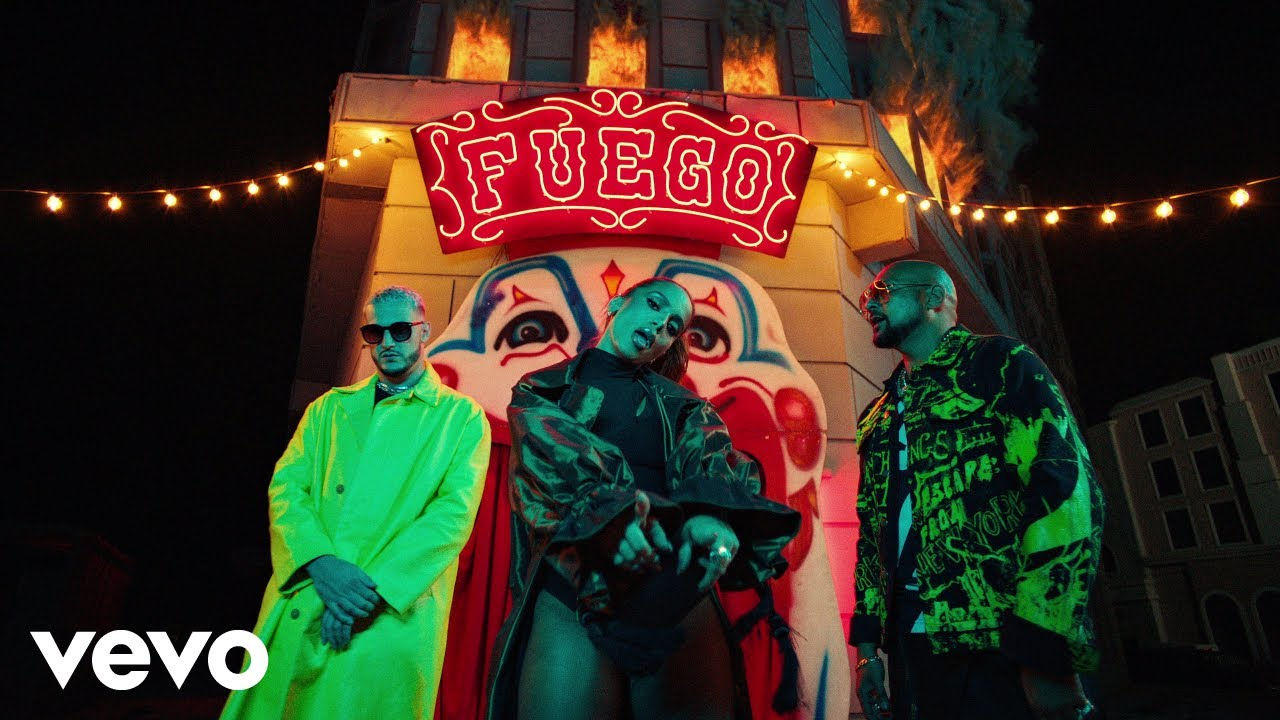 DJ Snake, Sean Paul, Anitta ft. Tainy — Fuego