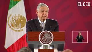 Andrés Manuel López Obrador presenta el primer paquete del Plan Nacional de infraestructura