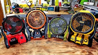 Job Site Fans Which one is Best ???