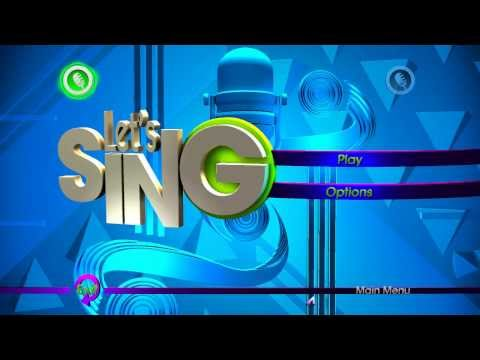 let's sing wii liste chansons