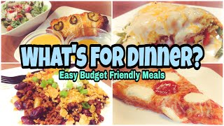 What's For Dinner? | Real Life Meal Ideas | Budget Friendly Dinners