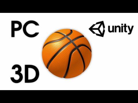 Basketball Game 3D — Unity Asset — Throw Ball for Desktop