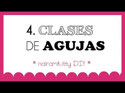 4. CURSO ONLINE APRENDE A COSER A MÁQUINA: CLASES O TIPOS DE AGUJAS