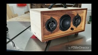 How I Made A Portable DIY Boombox