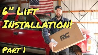 Chevy Truck Rough Country Lift Install | Part 1 - Vice Grip Garage EP