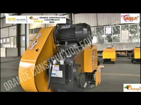 32mm Orange Gold Steel Bar Cutting Machine