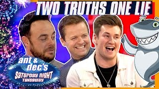 Two Truths One Lie | Ant & Dec v Oli White