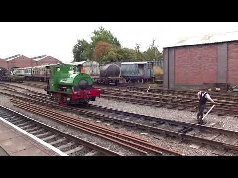 Peckett 0-4-0 'Teddy' on the Chasewater Light Railway 10th S…