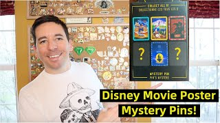 DISNEY MOVIE POSTER Mystery Pin Unboxing!