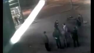 Fight Video ЖЕСТЬ!!!Драка двух боксеров прямо на улице!!!