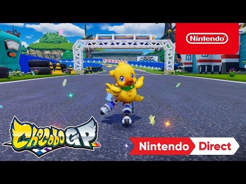 Announcement Trailer – Nintendo Switch de Chocobo GP
