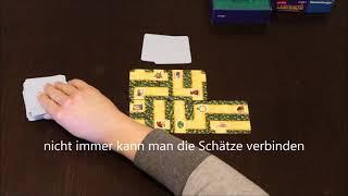 Das verrückte Labyrinth als Kartenspiel - Spielerklärung