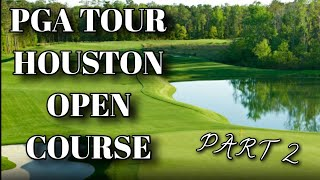 Golf Club of Houston from the Houston Open Tees | PART 2 | Amateur Vs Pro | Course Vlog