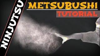 COMO FAZER METSUBUSHI , OVO NINJA METSUBUSHI