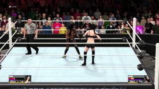 WWE 2K16: New Extended Gameplay Video feat. Paige vs Naomi
