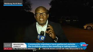 eNCA's Vuyo Mvoko has the latest on the unrest in Mahikeng