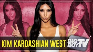 BigBoyTV - Kim Kardashian West on Meeting Kanye, Trump visit, Clapping Back & A Lot More!