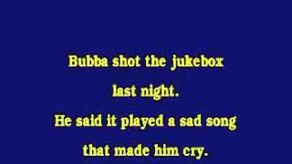 Jv0062 08   Chesnutt, Mark   Bubba Shot The Jukebox [karaoke]