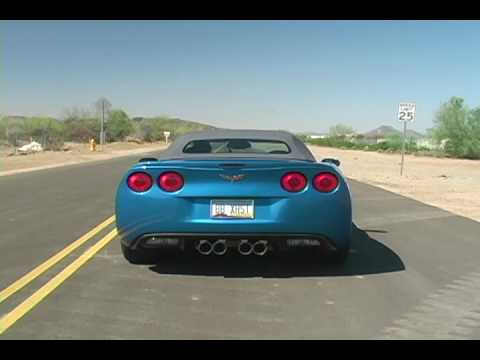 Chevy C6 Corvette with PRT Exhaust – Billy Boat Exhaust