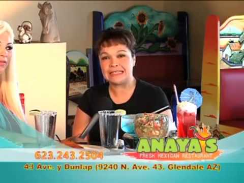 Video Anaya's Fresh Mexican restaurant Glendale Az