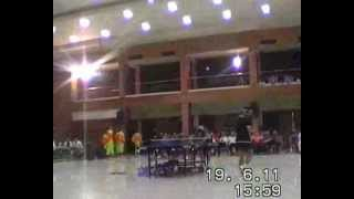preview picture of video 'TABLE TENNIS MEETS JAIPONGAN 2011 Part 5 of 6'