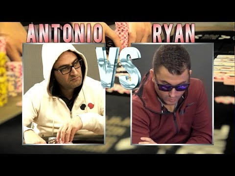 Ryan Feldman & Antonio Esfandiari Clash In A $60,000 Pot ♠ Live at the Bike!